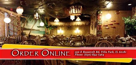 Tongs Tiki Hut Menu by Tong S Tiki Hut Order Villa Park Il 60181