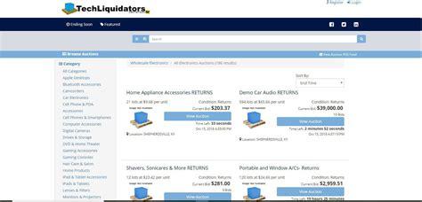 Bid Websites Liquidation Best Wholesale Auctions