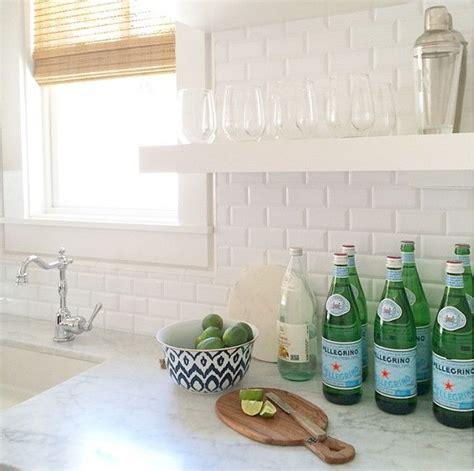 beveled subway tile kitchen cabinet color benjamin white pm 1 countertops 4617