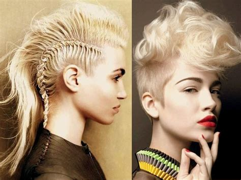 Best 25+ Braided Mohawk Hairstyles Ideas On Pinterest