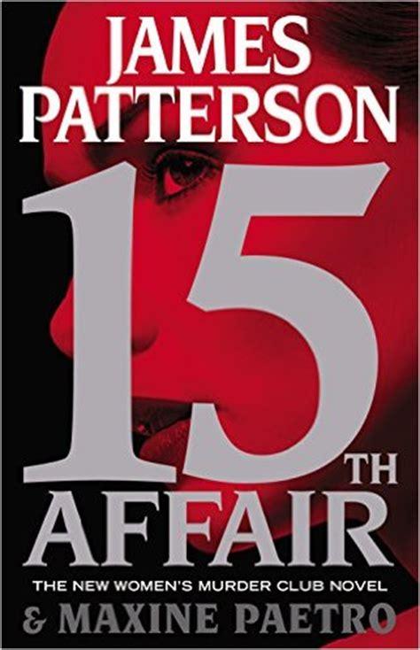 james patterson  affair