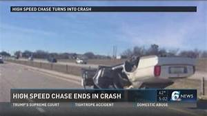 High-speed chase ends in crash   KCENTV.com