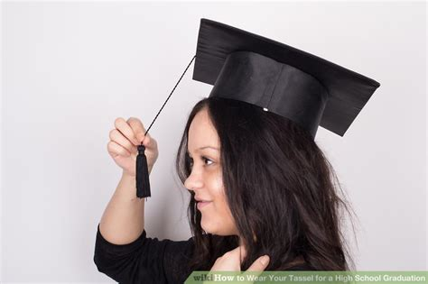 How To Wear Your Tassel For A High School Graduation 8 Steps. House For Sale Brochure Template. Welcome Sign Template. Life After College Graduation. Easy Free Resume Templates For Mac. Graduation Jewelry Gifts For Daughter. Gifts For High School Graduates Going To College. Online Photo Collage. Buddha Wall Art
