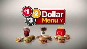 McDonald's $1 $2 $3 Dollar Menu TV Commercial ...