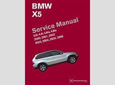 BMW X5 E53 2000 2006 Service Manual 30i, 44i, 46is