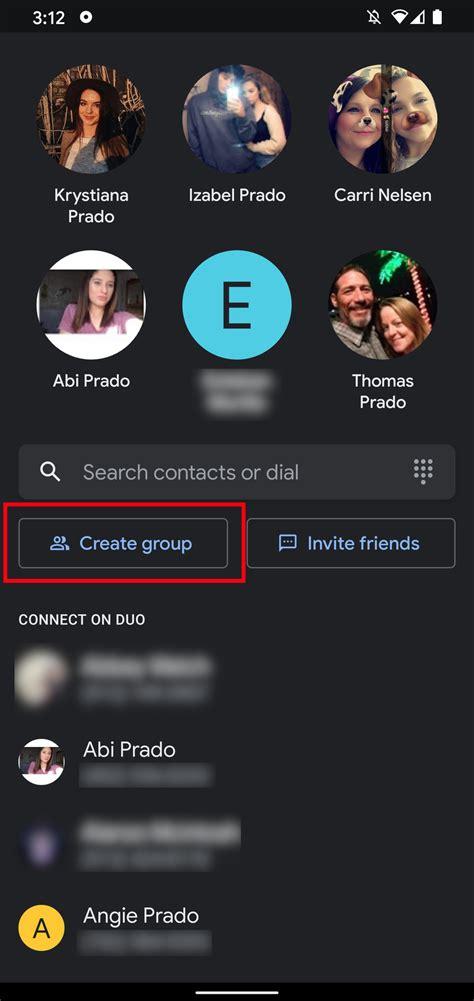 duo google call create