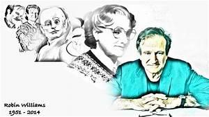 Robin Williams (1951-2014) by AngelAlado on DeviantArt