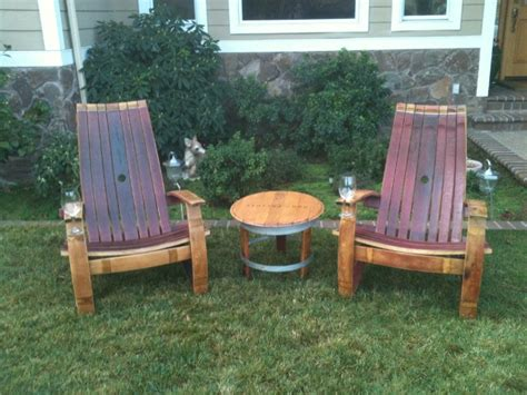 woodwork adirondack chair plans wine barrel pdf plans