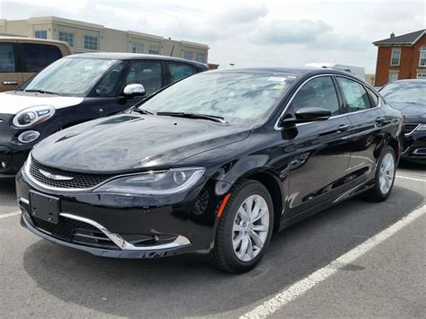 2015 Chrysler 200 C by 2015 Chrysler 200 C Black Hunt Chrysler New Car