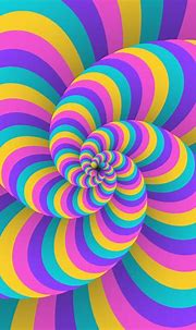 3D Swirl Circular Movement Illusion Background 266391 ...