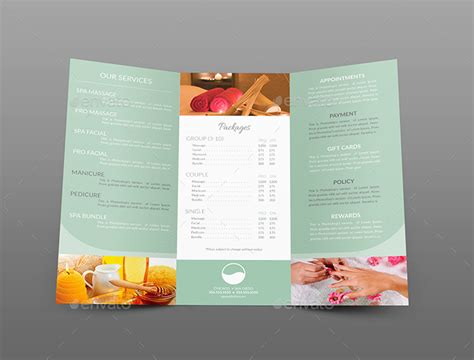 Tri-fold Brochure & Business Card Templates