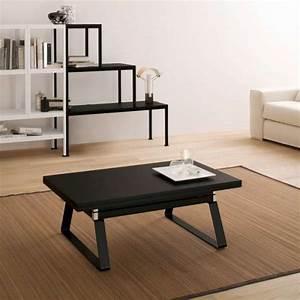 Table Basse Moderne : table basse moderne en bois ~ Preciouscoupons.com Idées de Décoration
