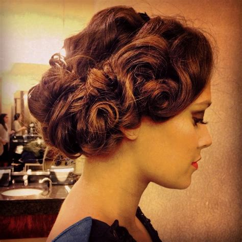 1920 Updo Hairstyles by 1920s Gatsby Inspired Hair Freelancehairstylist