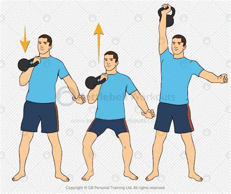 kettlebell push press exercises exercise muscle shoulders upper body