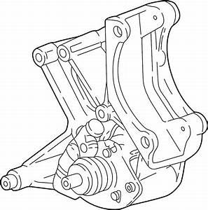 Chevrolet Corvette Alternator Bracket  Power Steering Pump