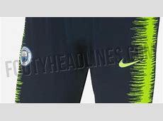 Nike Manchester City 1819 Training Kit Leaked Footy