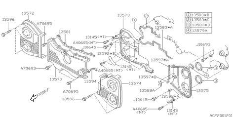 book repair manual 2012 subaru outback spare parts catalogs 13570aa17a genuine subaru cover belt front