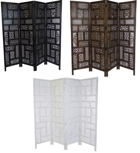 panel hand carved indian screen wooden screen divider