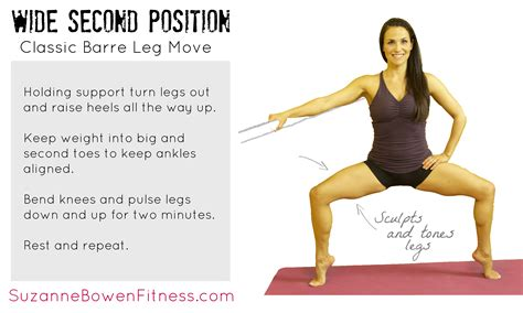 Barre Tips How To Master Wide Second Position For Great