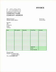 Free download invoice format hardhostinfo for Downloadable invoice template
