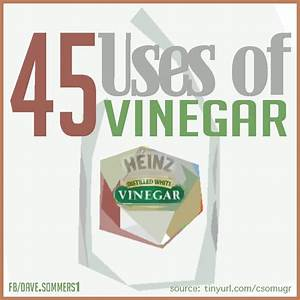 45 USES FOR VINEGAR! Discover innovative solutions to ...