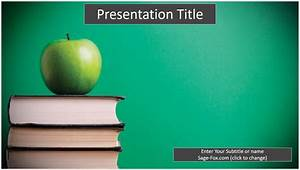 free education powerpoint template 6238 sagefox powerpoint templates With educational ppt template