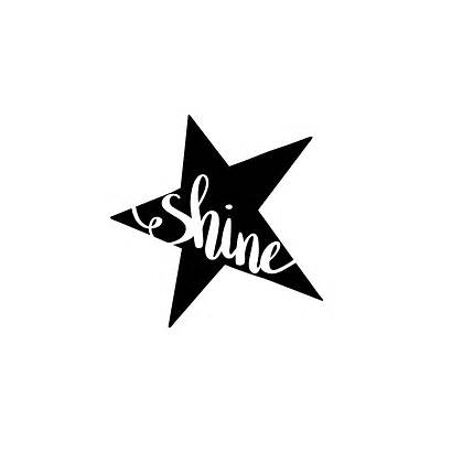 Shine Quotes Stars Svg Star Scalable Sayings