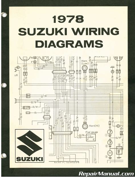 Suzuki Wiring Diagram Manual