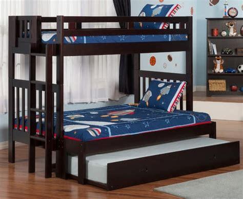 triple bunk bed  ultimate bedroom space saver