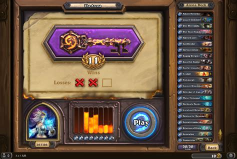 mage deck hearthpwn cheap best arena mage deck no legendaries or epics the