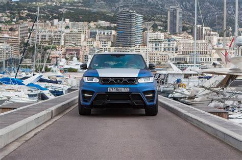 Larte Design Range Rover Sport Stuns In Monaco Gtspirit