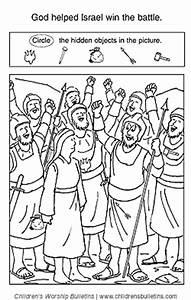 Sunday school activities about Deborah and Barak ...