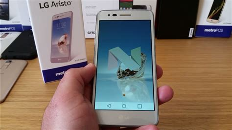 Lg Aristo Unboxing And Hands-on