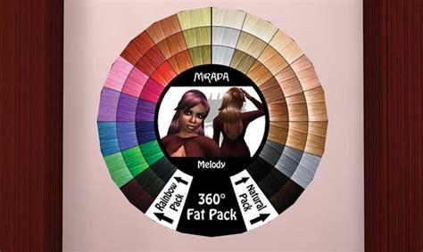 Color Wheel For Hair Selection