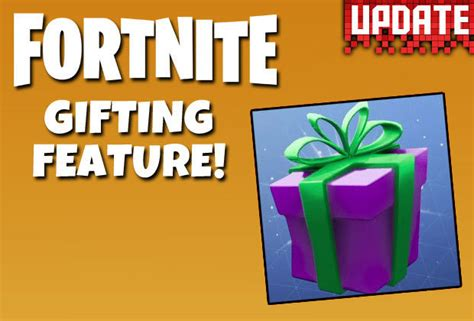 fortnite gift skins update   gift skins  season