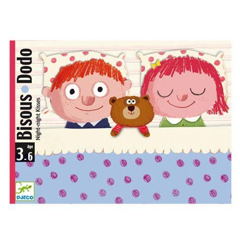 jeux de bisous au bureau jeu de cartes bisous dodo djeco pour enfant de 3 ans à 6