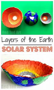 Layers Of The Earth Bowls - Science Fair Project