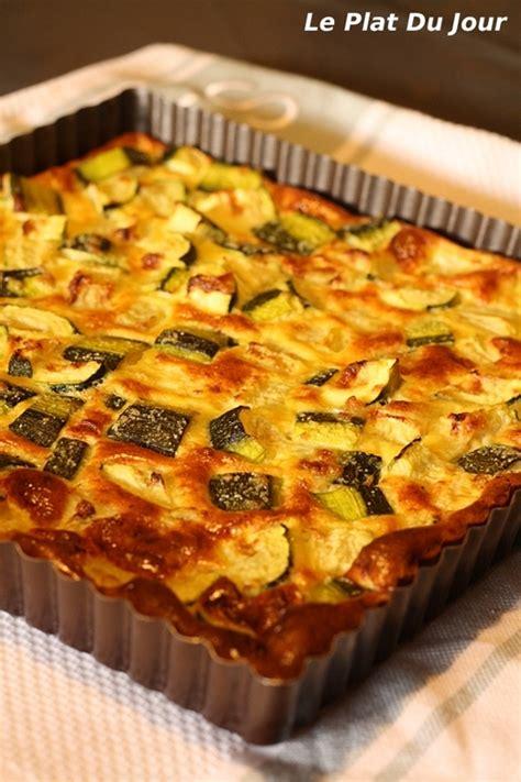 tarte aux courgettes sans p 226 te ww recette