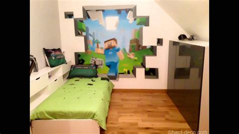 Minecraft Themed Bedroom Wallpaper by Cool Minecraft Bedroom Theme Ideas