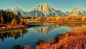 Mountains, Landscapes, Nature, Lakes, 1920x1080, Wallpaper