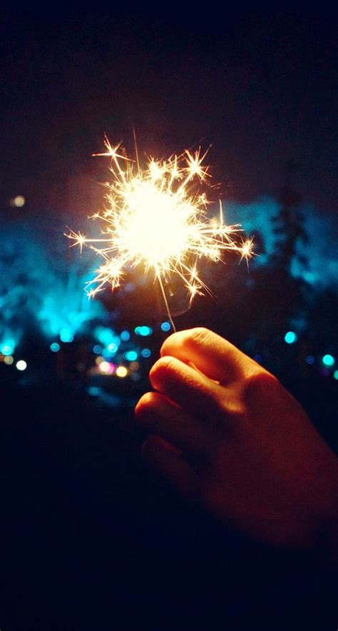 Happy New Year Fireworks Hand Iphone 6 Plus Hd Wallpaper  Iphone Wallpapers  Pinterest New