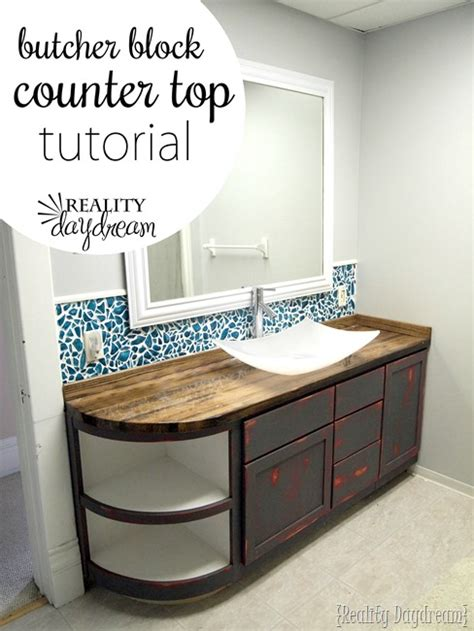 how to make butcher block countertops how to build a butcher block counter reality daydream
