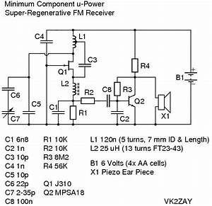 Fm Receiver Circuit Diagram Using Transistor