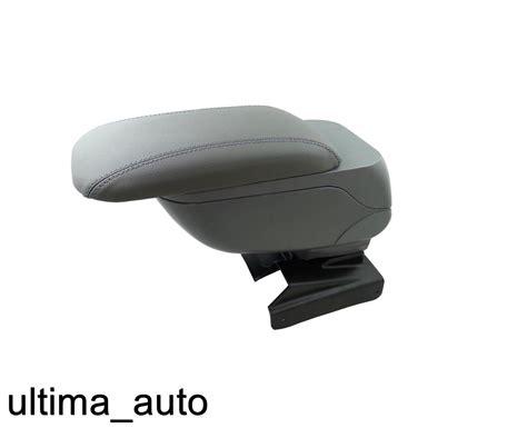 si鑒e confort pour caddie cuir gris rembourré accoudoir accoudoir console centrale pour vw caddy 2003 2015 ebay