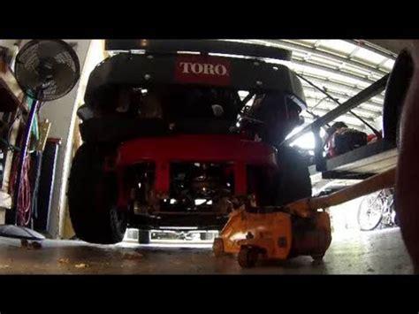 hydro fluid change toro  master youtube