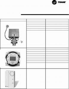 Trane Zn 520  Tracer Unit Ventilator User Manual
