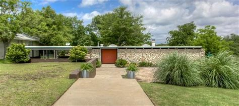 Affordable Mid Century Modern Texas Home for Sale