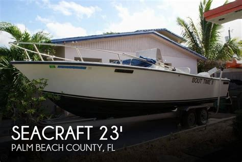 sold seacraft  master angler boat  lake worth fl