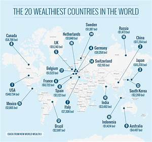 Wealthiest Country In The World | Emaps World
