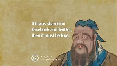 Quotes Fake Social Confucius True Internet Counter